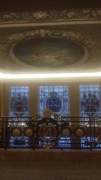 The main balcony at Café Royal