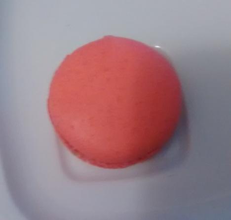 Rose petal macaron